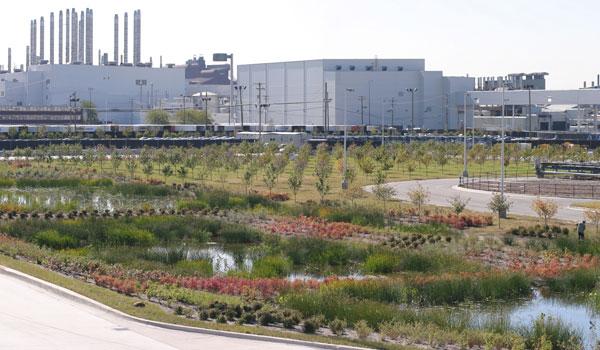 Ford landscape