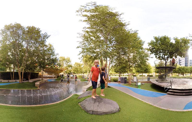 Klyde Warren Park VR
