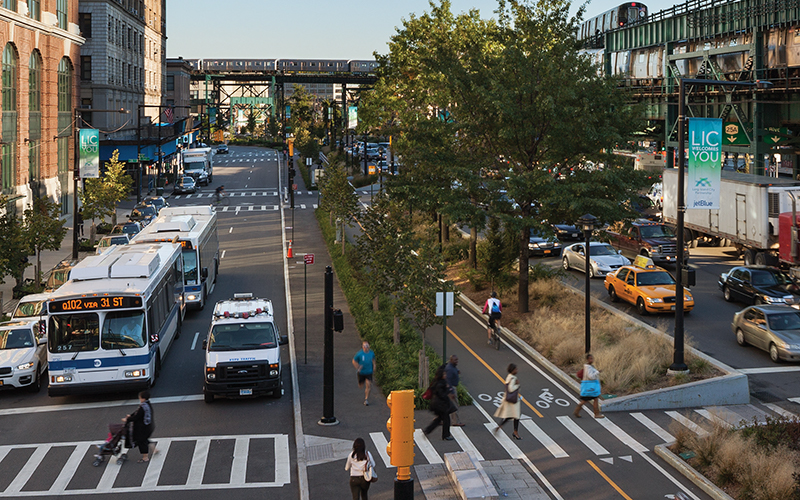 Queens Plaza in Queens, New York