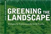 Greening the landscape