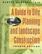 Guide to Site Planning