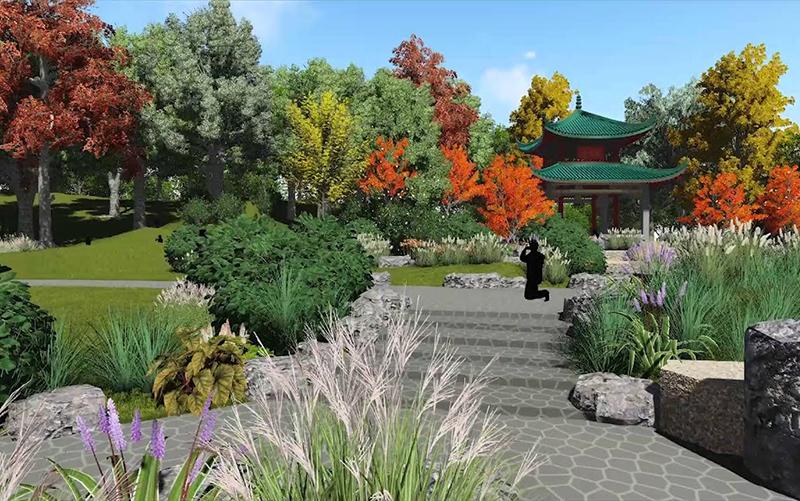 Phalen Regional Park China Garden